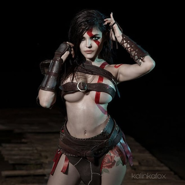 Kratos (God of War) sexy girls