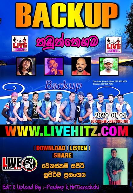 BACKUP LIVE IN THABUTHTHEGAMA 2020-01-04