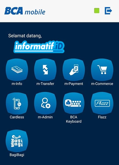 Verifikasi Ulang BCA Mobile - Verifikasi BCA Mobile Selesai