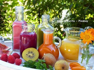 juice buah sumber asupan air tubuh