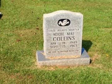 Headstone of Addie Mae Collins