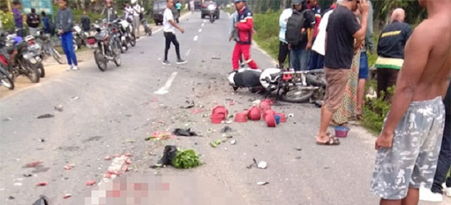 Ngebut ke Sekolah, Tabrak 2 Motor, Pelajar Asal Simalungun Tewas di Sipispis (2 Sekarat, 1 Luka-luka)
