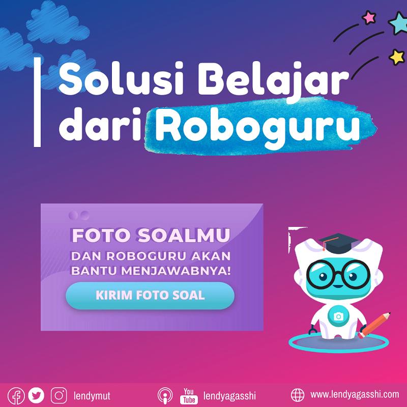 Solusi Belajar dari Roboguru : Logo Roboguru
