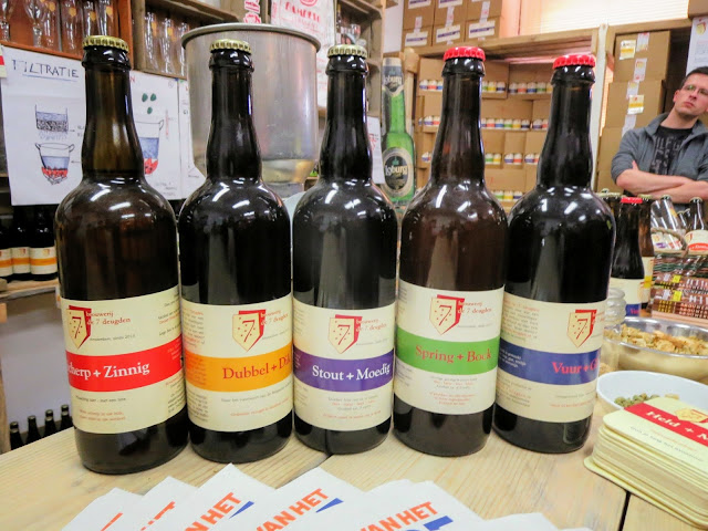 Discover the Netherlands: Browerij de 7 Deugden beer bottles and tasting in Amsterdam