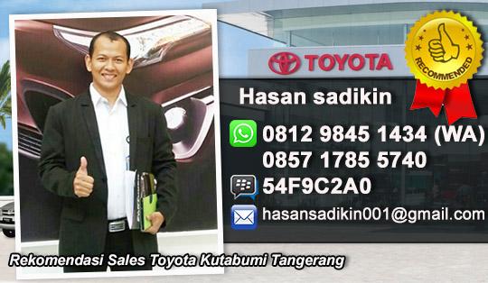 Rekomendasi Sales Toyota Kutabumi Tangerang