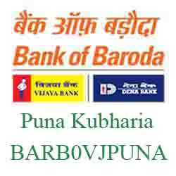 Vijaya Baroda Bank Puna Kubharia Branch New IFSC, MICR