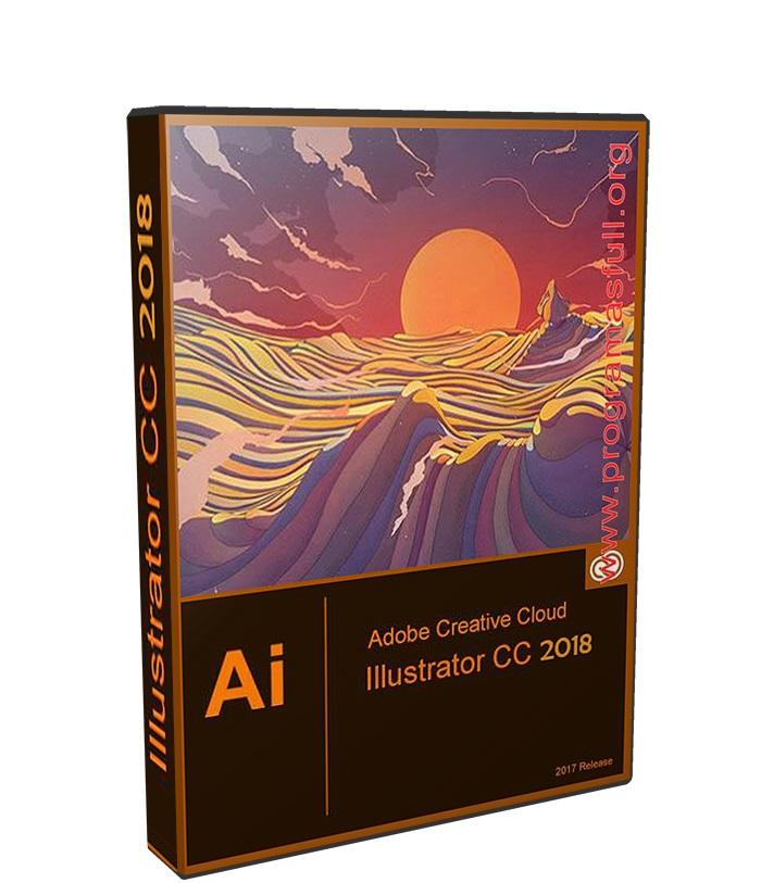Adobe Illustrator CC 2018 v22.1.0.312 poster box cover