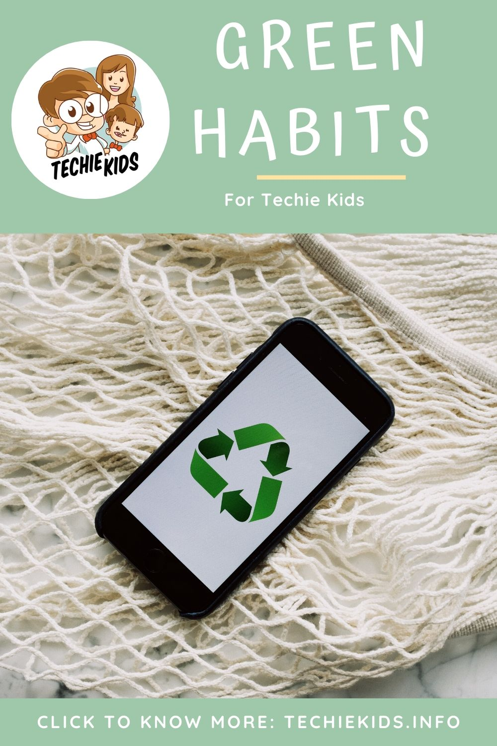 Green Habits for Techie Kids, phone recycling