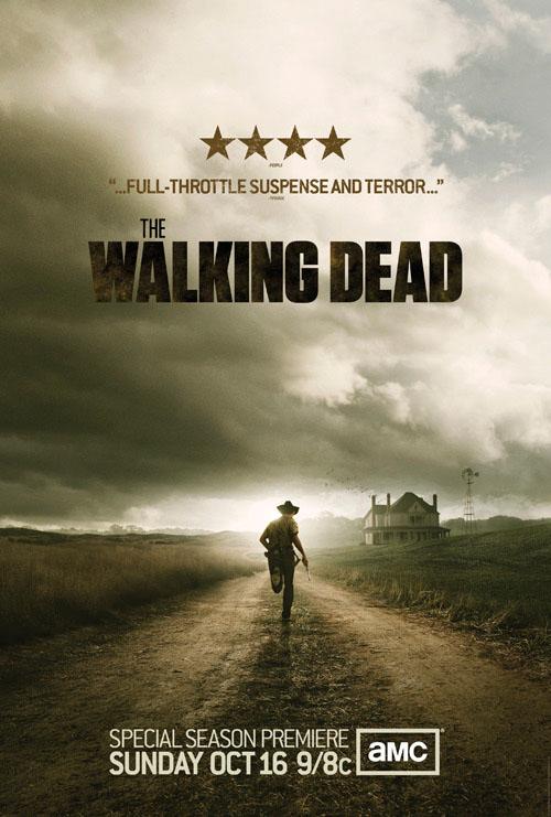 Póster de la segunda temporada de 'The Walking dead'
