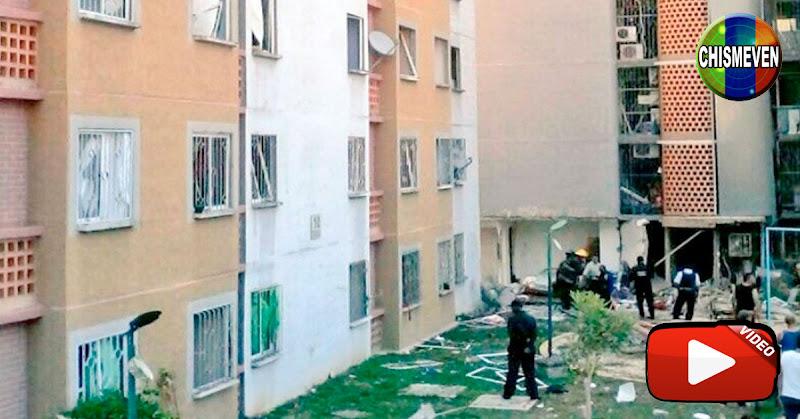 5 Heridos tras explosión en un edificio de Terrazas del Ávila