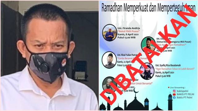 Astaga! Pejabat yang Gelar Kajian Online Ramadan Dicopot, Komisaris PT Pelni Sebut Radikalisme