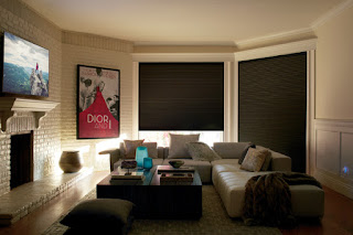 The Hunter Douglas Duette LightLock system is a new technology that blocks out 100 percent of light.
