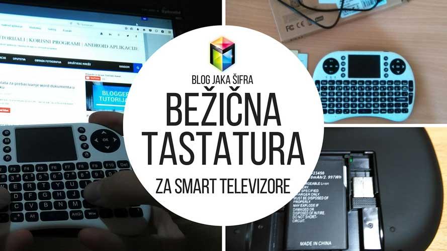 Bežična tastatura za Smart televizore - AirMouse