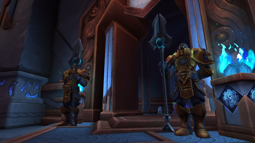 Oribos is the hub in the Shadowlands.