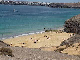 snorkel en playa papagayo