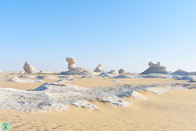 Excursión al Desierto Blanco de Egipto