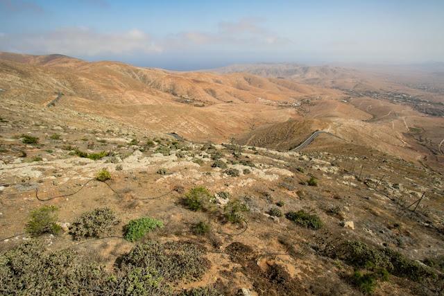 Vista dal Mirador Morro Velosa-Fuerteventura