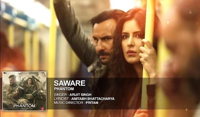 Saware Guitar Chords + Strumming Pattern - Arijit Singh | Phantom Katrina Kaif Saif Ali Khan