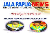 Jalapapua apresiasi,satu wartawan dan satu editor Media www.jalapapua.com berasil wisuda di UNIYAP Papua