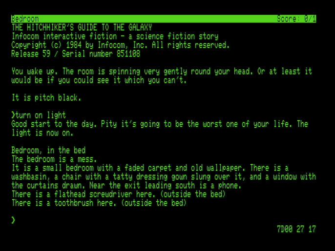 Tynemouth Software: Commodore Pet text adventures