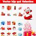 Tải bộ Vector hộp quà Valentine