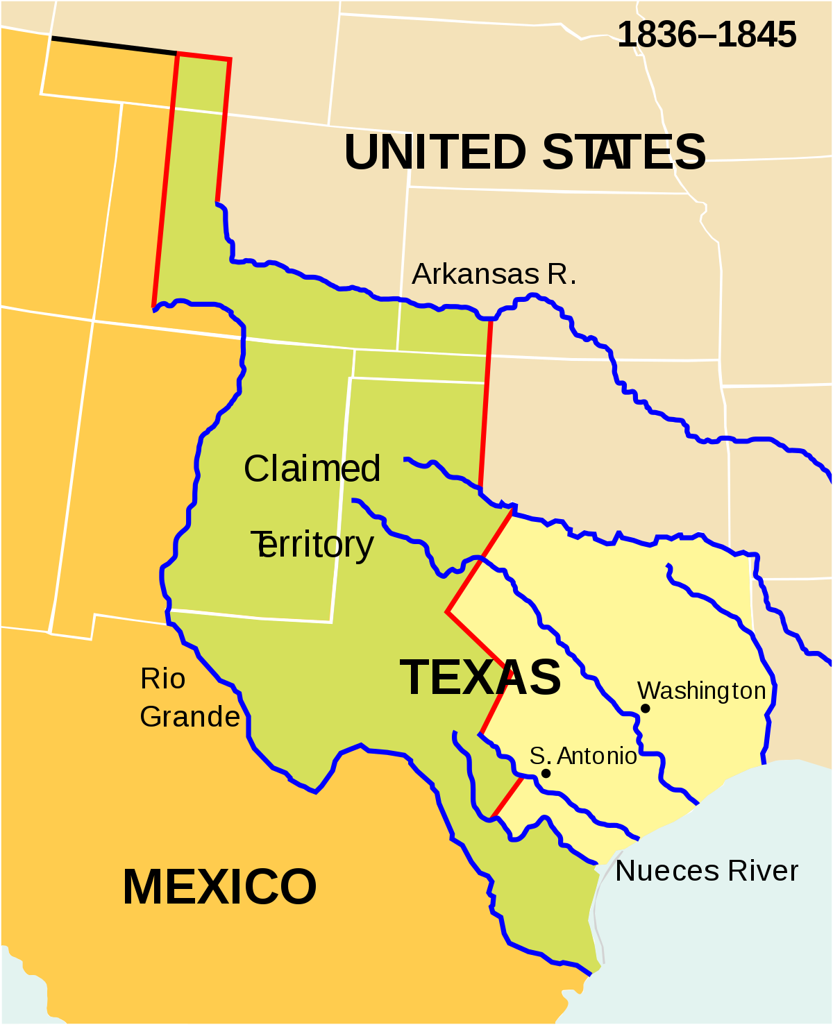 Annexing Texas and Dividing Oregon