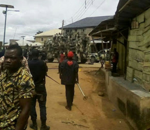 ipob soldiers clash aba