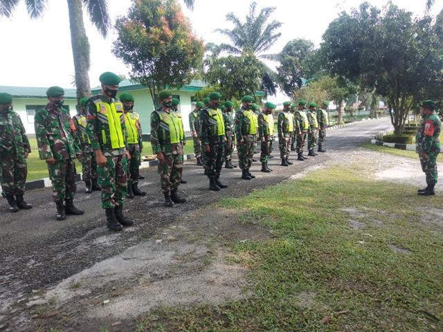 Masih Dalam Situasi Lebaran, Personel Jajaran Kodim 0207/Simalungun Laksanakan Apel Siaga On Call