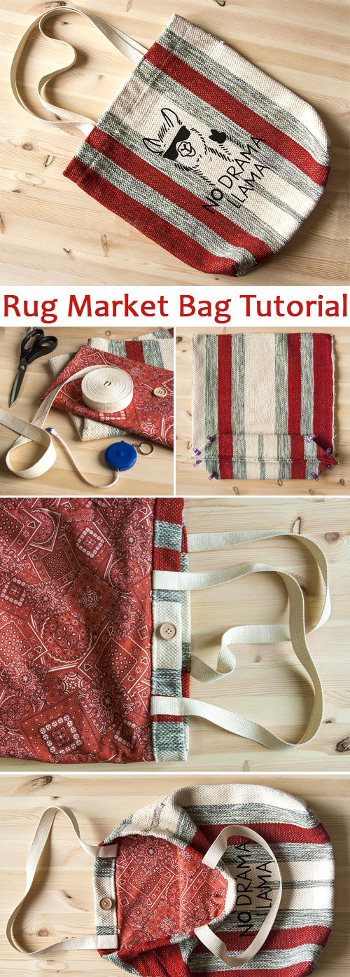 Rug Market Bag Tutorial
