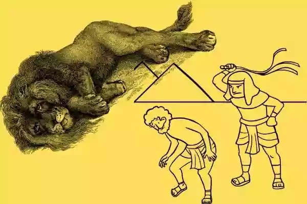 The Slave and the Lion Story