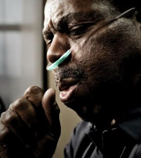 African American Man With COPD