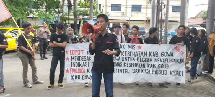 Gelar Aksi Unjuk Rasa Di Dua Kantor Pemerintah Kab Gowa, Polres Gowa, Turunkan 108 Petugas Pengamanan