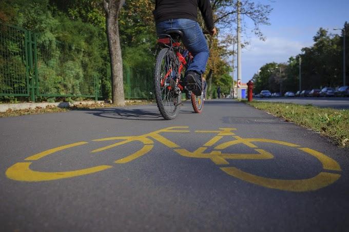 Már 9100 kilométeren közlekedhetnek biztonságosan a biciklisek