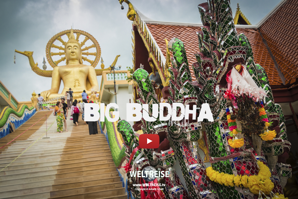 Big Buddha & Wat Phra Yai | Koh Samui | WORLD TRAVEL | WELTREISE