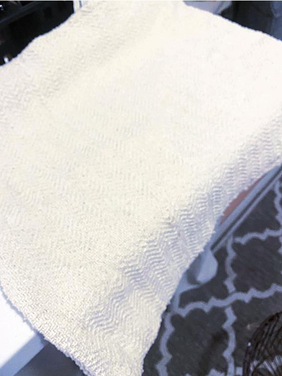 cut fabric piece