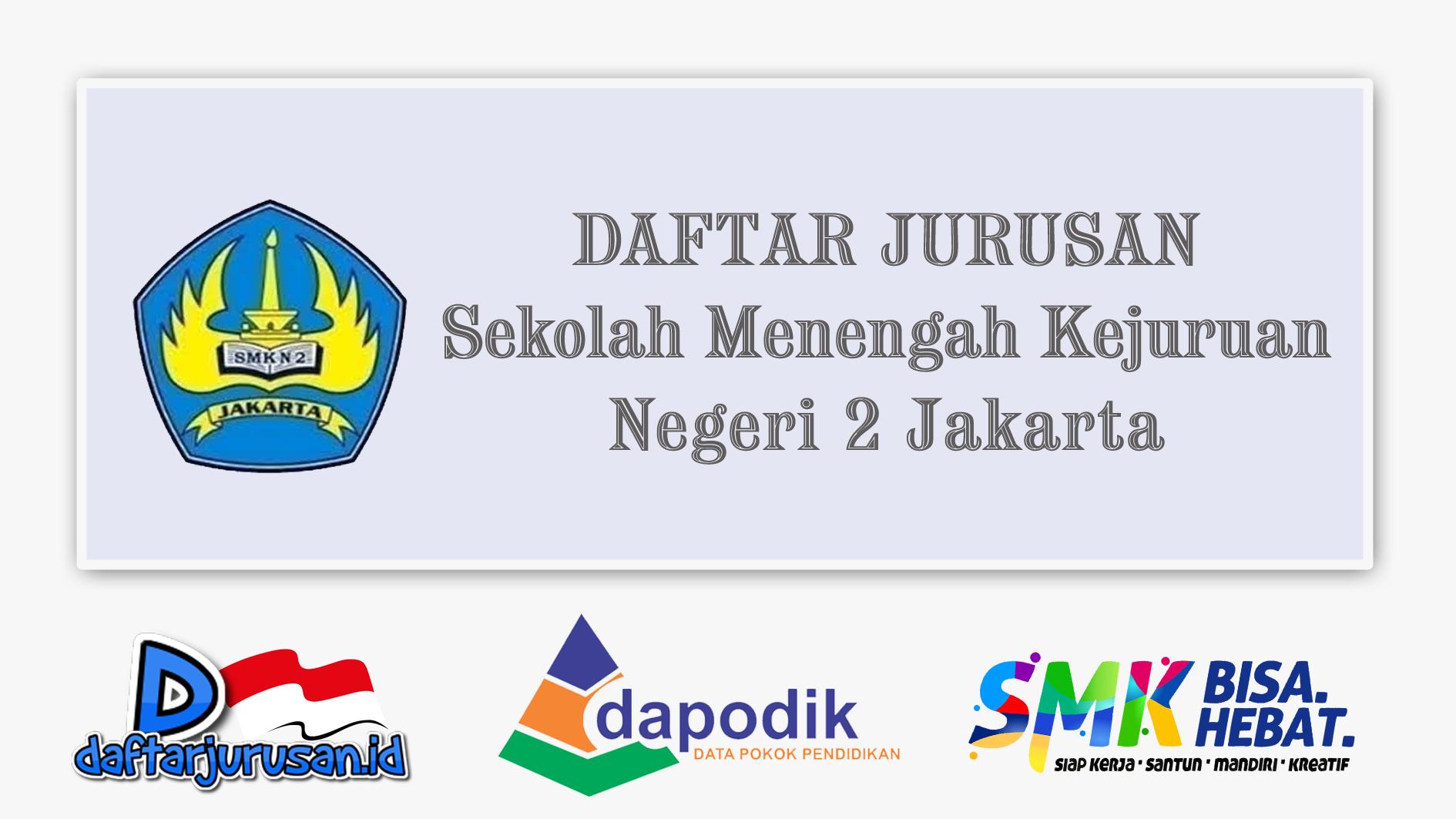 Daftar Jurusan SMK Negeri 2 Jakarta Pusat