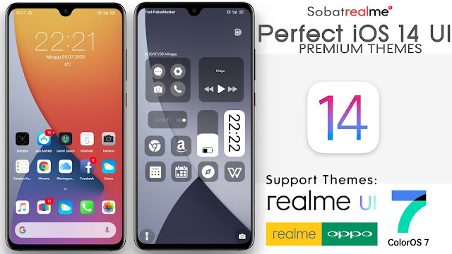 Perfect iOS 14 Themes for OPPO and Realme