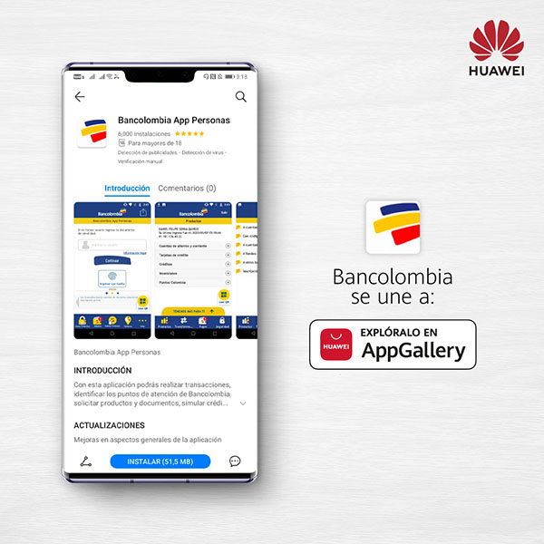 banca-colombiana-sube-AppGallery-Huawei