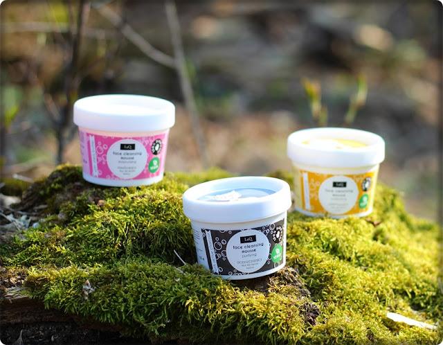 LaQ - genialne musy myjące z naturalnym składem, znalezione w Hebe.