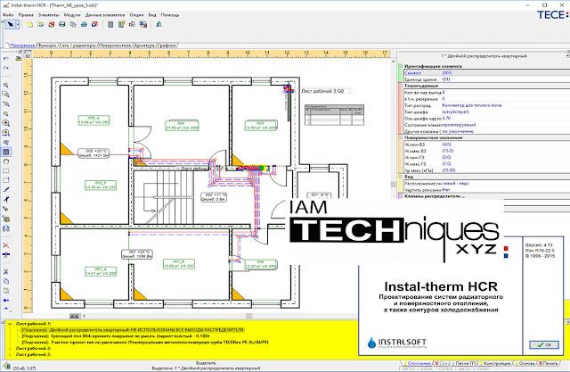 TECE Instal-Therm HCR v4.13