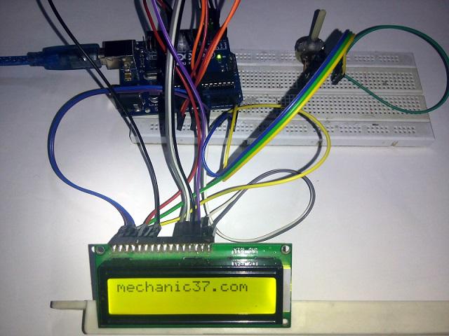 JHD162A Arduino Lcd Display क्या है इसके लिए circuit