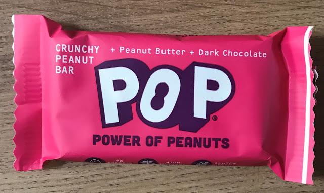 Pop Peanut Bar - £1.49 Degustabox November 2019