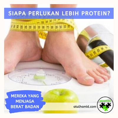Siapakah Yang Memerlukan Lebih Protein?