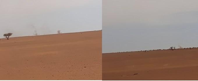 الجيش المغربي يقصف معبر للمدنيين على الحدود الصحراوية-الجزائرية-الموريتانية