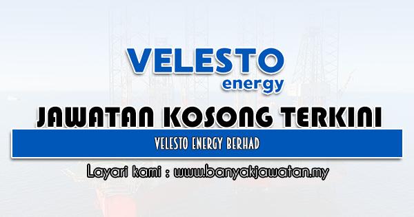 Jawatan Kosong 2021 di Velesto Energy Berhad