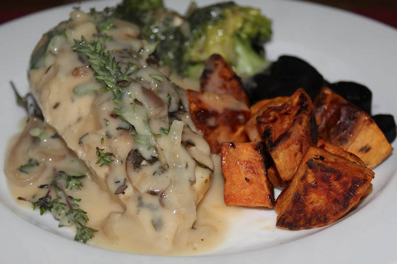 a dash of flavour: Chicken with Wine, Garlic and Herb Sauce