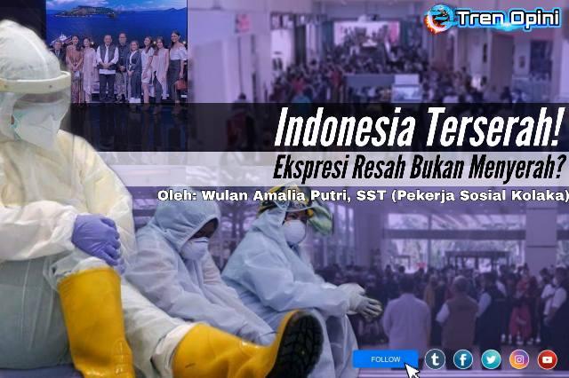 "Selain Tagar Indonesia Terserah, muncul pula agar berikutnya yakni ""Gantian"". Tagar ini bermaksud agar para tenaga medis dapat kembali beristrahat di rumah dan para pelanggar protokol kesehatan dapat berjaga di rumah sakit, menggantikan peran tenaga medis."