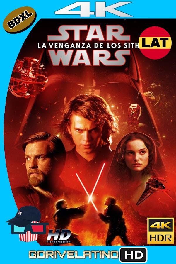 Star Wars : La Venganza de los Sith (2005) BDXL 4K UHD Latino-Ingles ISO