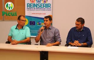 Prefeito Olivânio Remígio e Secretários Municipais participam de seminário do REINSERIR
