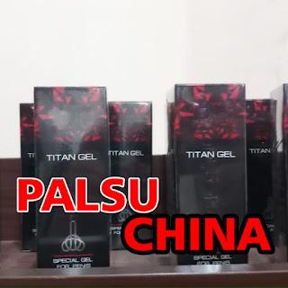 titan gel palsu china